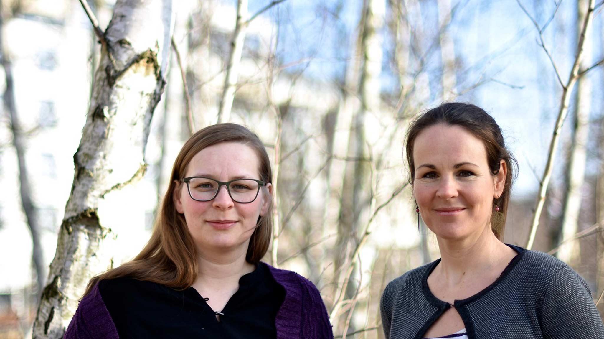 Gründerinnenteam von Fjordkind-Reisen:Anna Hollensteiner und Corinna Windisch