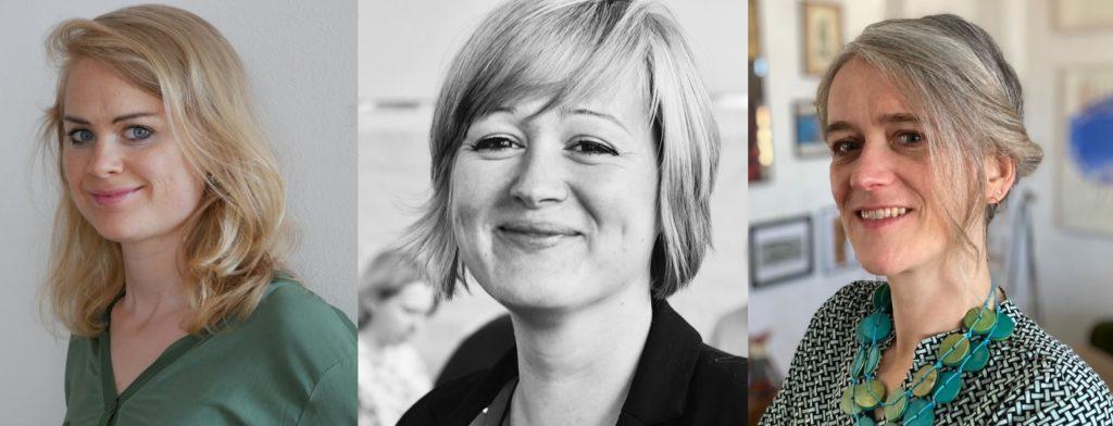 Erfolgsteam OstX: Portraits von drei weiße Frauen